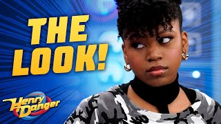 Every Time Charlotte Gives 'The Look' 👀 | Henry Danger