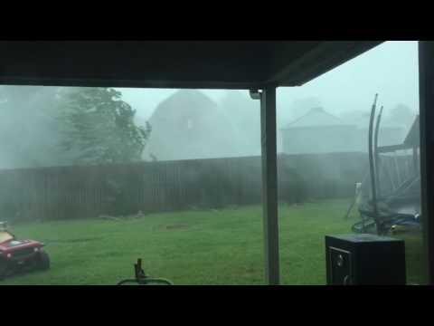 60-75 mpg Wind Gusts - Broken Arrow/Tulsa 7-14-16