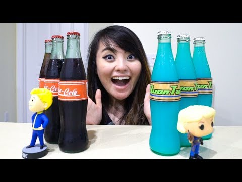 We made NUKA COLA from FALLOUT 4!!