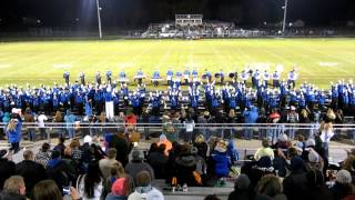 Lake Fenton (MI) High School Blue Devil Marching Band - Toccata and Fugue in D Minor & Thriller