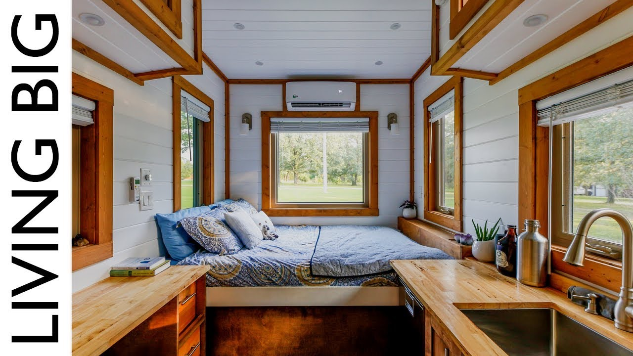 Life In Our Traveling Tiny House Youtube