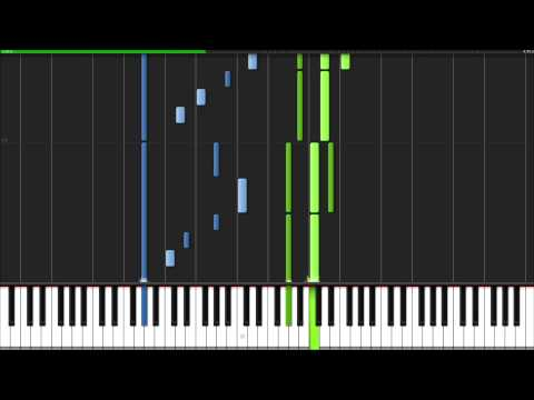 The Phantom of the Opera - Overture [Piano Tutorial] (Synthesia)