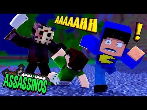 Minecraft: SEXTA-FEIRA 13! (Assassinos)