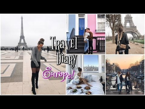 Paris, Amsterdam, London! // Europe Travel Diary