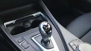 BMW M 기어 노브 조작 방법(M DCT)