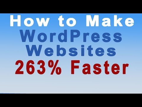 How to Make Your WordPress Website Load 263% Faster