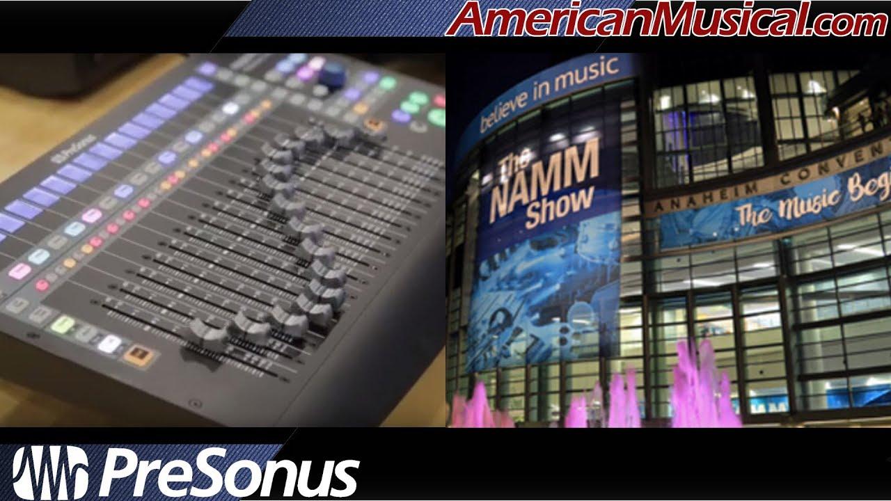 NAMM 2019 PreSonus Faderport Controllers - American Musical Supply