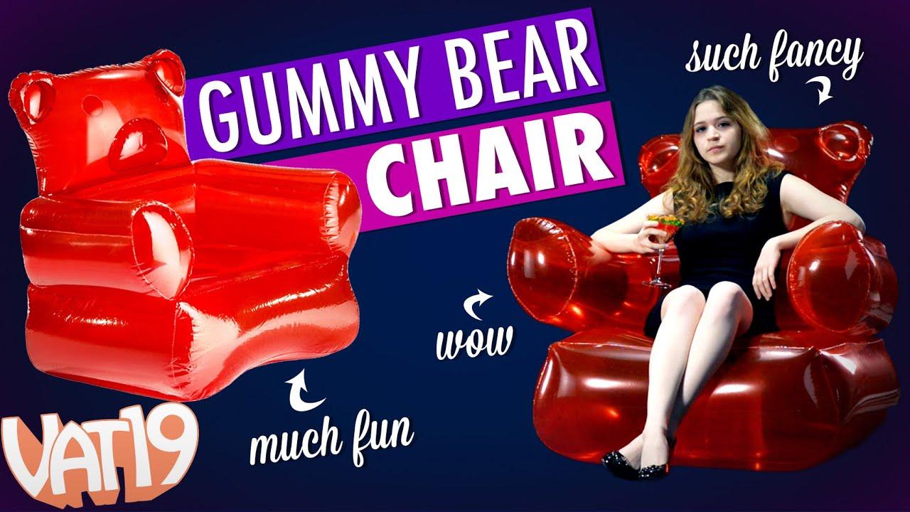 Morocco Home Decor An Inflatable Gummy Bear Lounge Seat Doovi