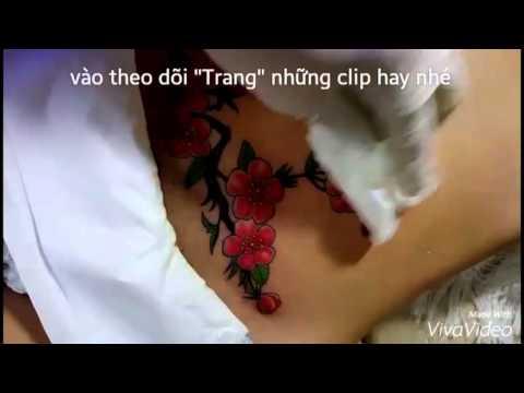 Xăm nghệ thuật phụ khoa thẫm mỹ tattoo 2016