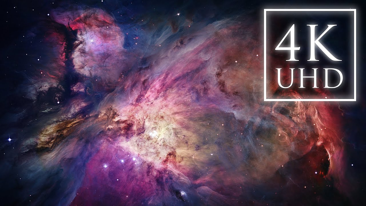 the orion nebula ultra hd 4k youtube