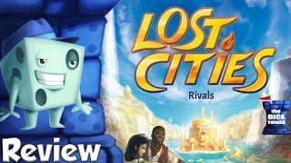 Lost Cities: Rivals Review - with Tom Vasel