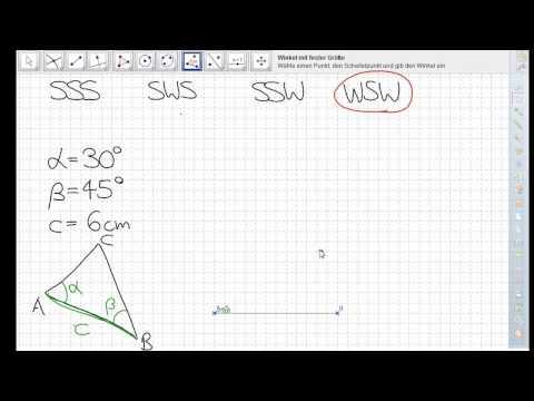 Dreieckskonstruktion WSW