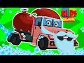 Car Wash | Santa Car | Christmas Songs | Xmas Videos | Cartoons For Children by Kids Channel