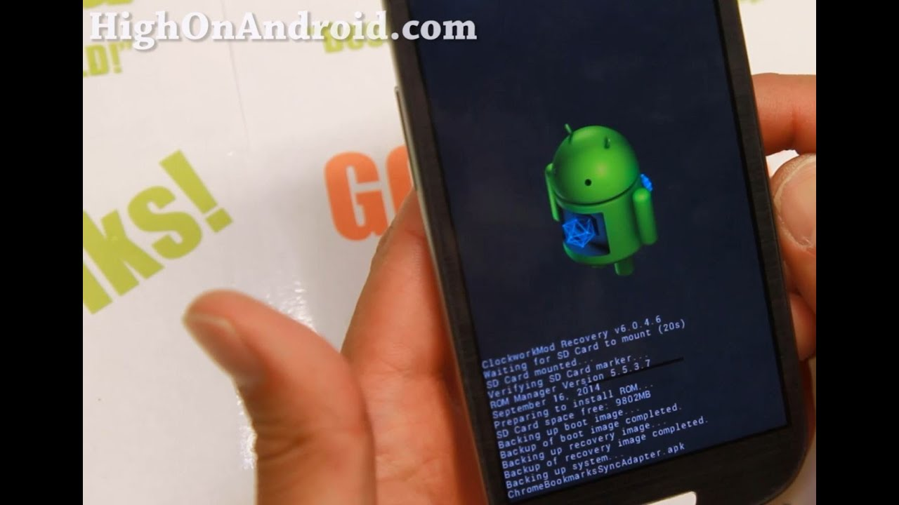 How to Install ROM using ROM Manager App! | HighOnAndroid com
