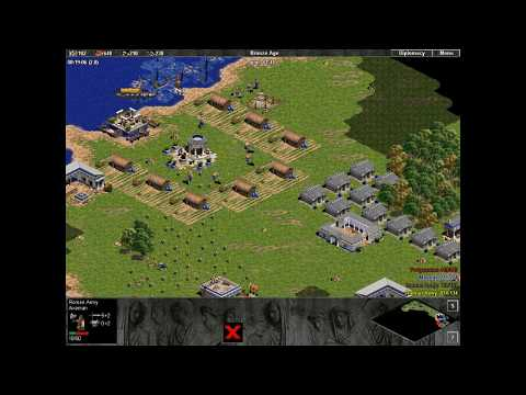 Enemies of Rome. mission 2. Third Greek War. Age of Empires. Hardest