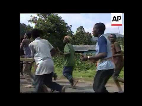 Rwanda - Hutu-Dominated Government Army Training