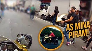 PASSEI NO MEIO DO FLUXO COM A MOTO DE OURO