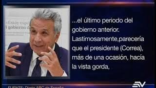 Lenín Moreno a ABC:
