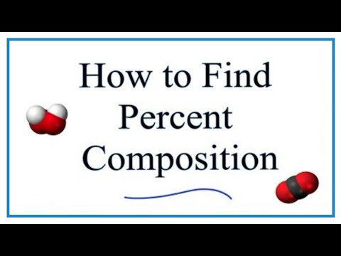 How To Find The Percent Composition By Mass For A Compound