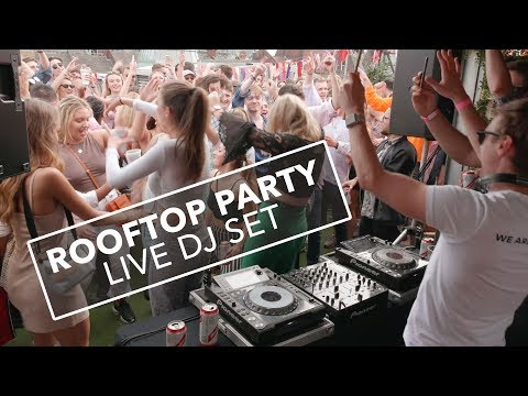 Triple Cooked Rooftop Party - Live DJ Set (10 Minute Clip) - Jamie Hartley