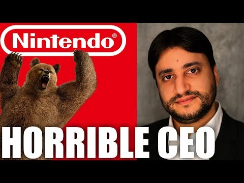 The Nintendo Of Russia CEO Is A Terrible Person