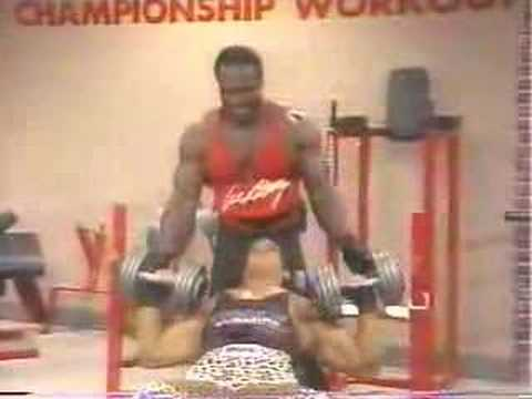 Lee Haney Workout with Teen David Orlando