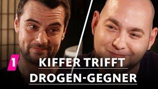 Kiffer trifft Drogen-Gegner | 1LIVE Ausgepackt - Folge 7: Cannabis