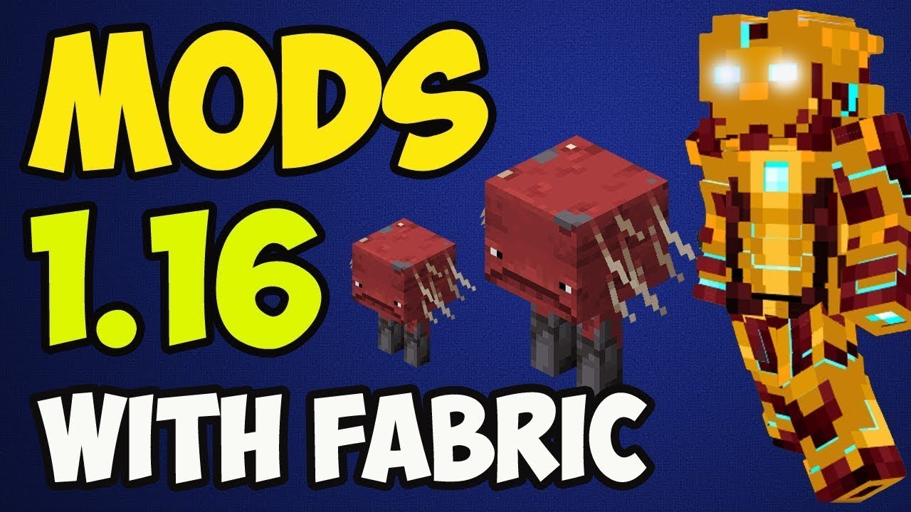 How To Install Fabric Mod 1 16 2 Fabric 1 16 2 Minecraft Youtube