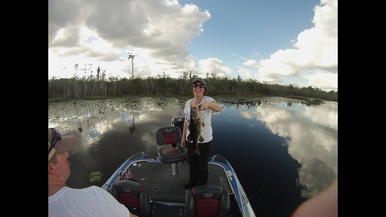 Art of Fishing Guide Service: Derek & Jackie, Orlando, FL Bass Fishing