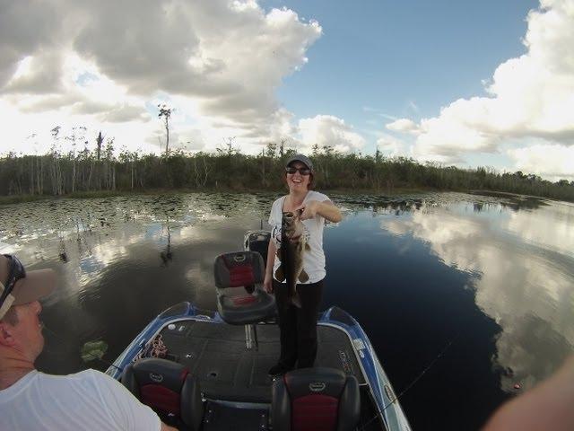 Art of Fishing Guide Service: Derek & Jackie, Orlando, FL Bass Fishing