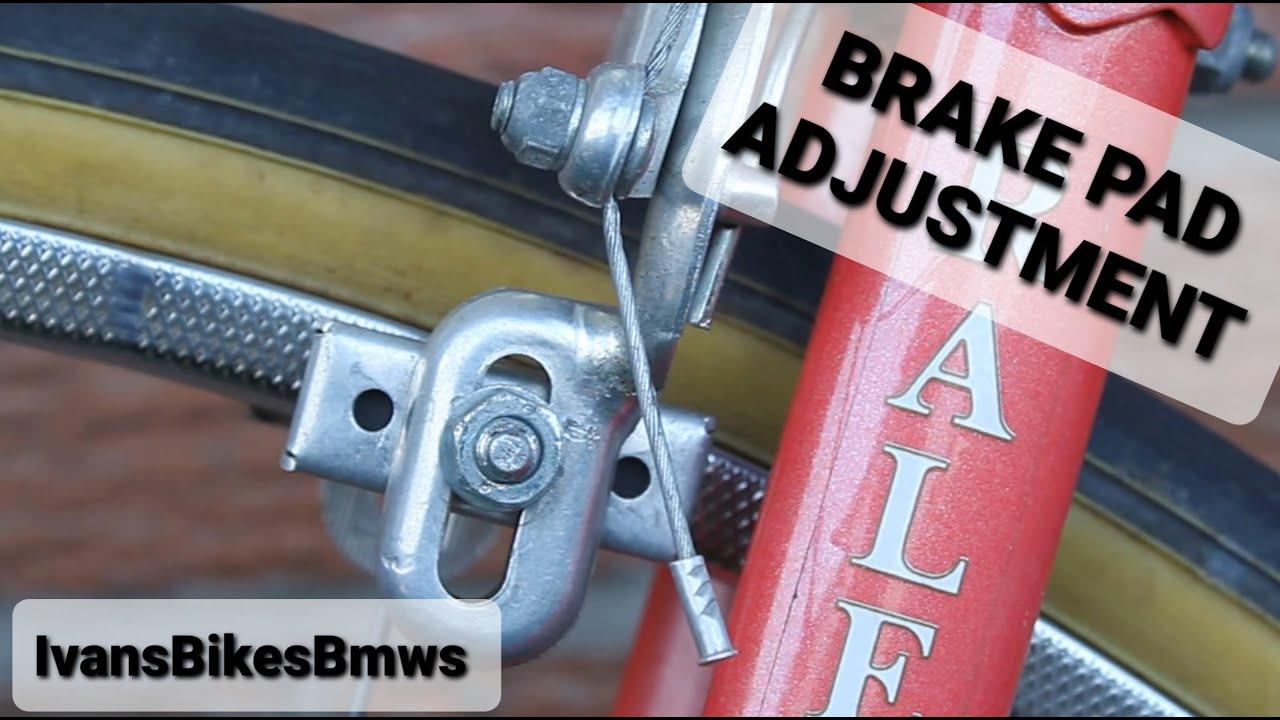 How To Adjust Adjust/Center Side Pull Brake Pads On A Vintage Road Bike