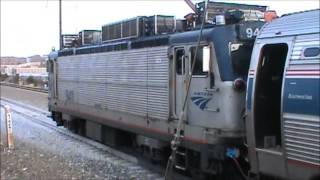 New Carrollton, MD (Amtrak Northeast Corridor - NEC) - November 23, 2012