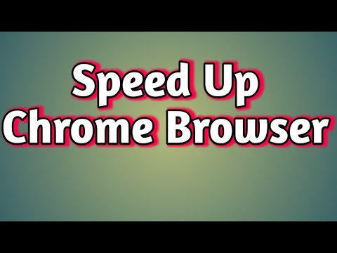 Browser History delete and reset  and Speed up browser with Google Chrome Browser