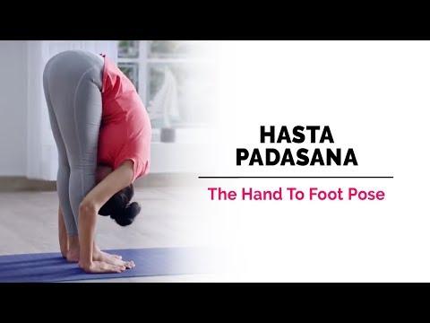 Hasta Padasana   Hand-To-Foot-Pose   Steps   Benefits   Yogic Fitness