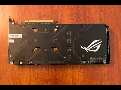 ASUS GTX 1080 STRIX 8G to O8G BIOS - Update