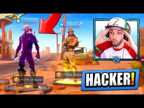 I found a HACKER with *UNRELEASED* Fortnite skins...