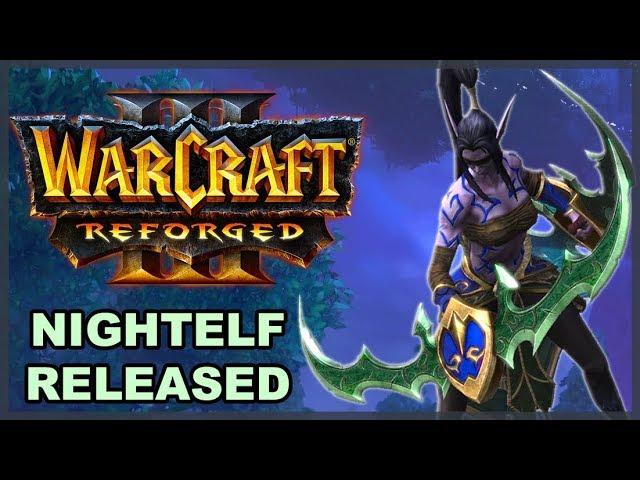 WC3 Reforged Beta: Nightelf First Impression
