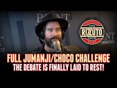 FULL JUMANJI / CHOCO CHALLENGE debate is finally laid to rest!