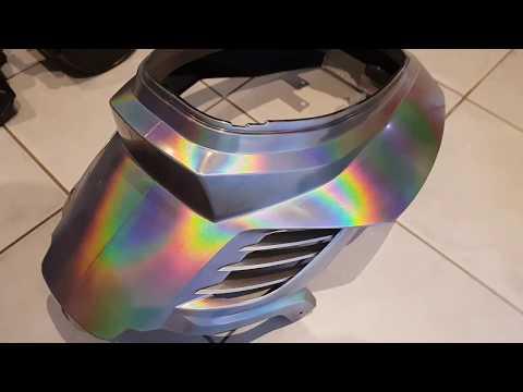 Booster peinture BCD holographique