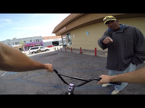 RIDING BMX IN THE HOOD 3 (LONG BEACH)