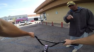 RIDING BMX IN THE HOOD 3 (LONG BEACH)