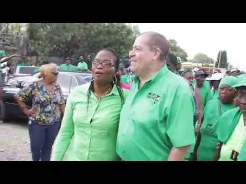 Audley Shaw : NE Manchester Nomination Day Parade And Nomination