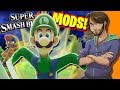 Super Smash Bros. MODS & GLITCHES! - SpaceHamster