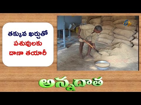 Low Cast Preparation of Cattle Feed || ETV Annadata