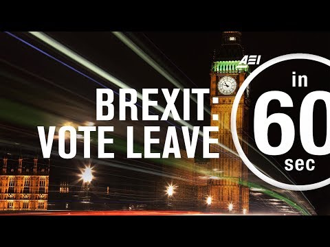 "Brexit: Why the United Kingdom should ""Vote Leave"" 