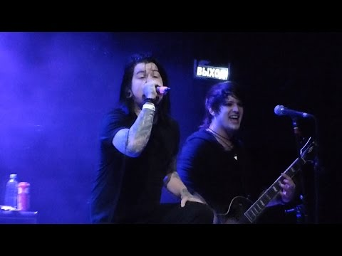 Escape the Fate, Live @ Red, Moscow, 18.02.2016