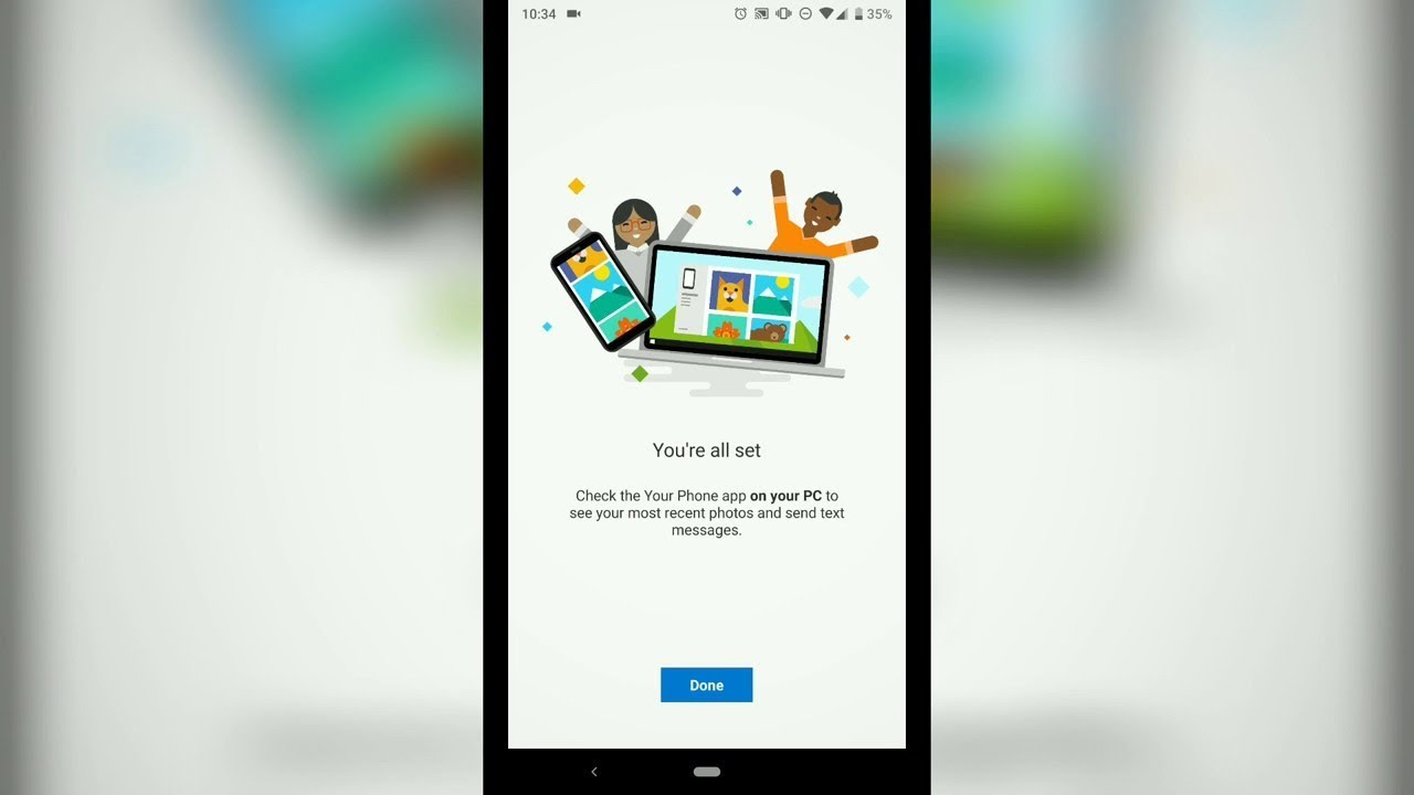 How to integrate Android/iOS phone with Windows to send/receive text  messages in your PC