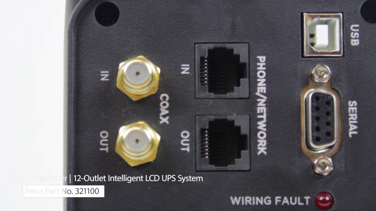 Spotlight On CyberPower's 12-Outlet Intelligent LCD UPS System