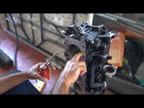 300 HP Mercury Verado Outboard Rebuild (After being Sunk 11 Days) Part 3