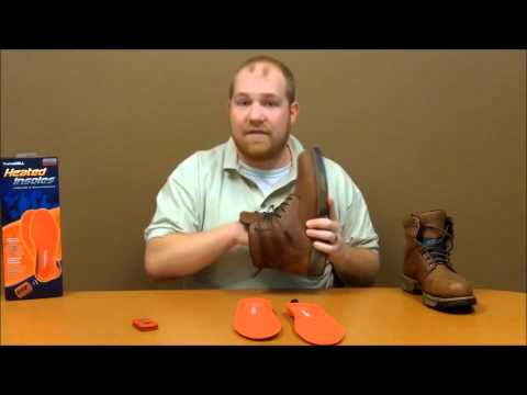 Thermacell Heated Insoles - How to use your Heated Insoles